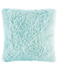 "Madison Park Nova 20"" Square Faux-Mohair Decorative Pillow"