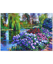 "David Lloyd Glover 'Promise of Spring' 35"" x 47"" Canvas Wall Art"