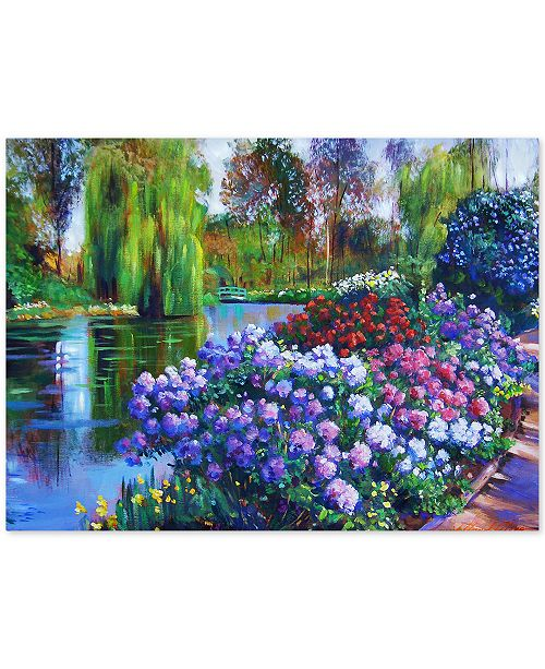 "Trademark Global David Lloyd Glover 'Promise of Spring' Canvas Art - 24"" x 18"""