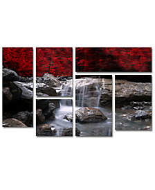 Philippe Sainte-Laudy 'Red Vison' Multi-Panel Wall Art Set