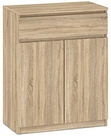 Essex 2-Drawer 2-Door Wardrobe, Quick Ship