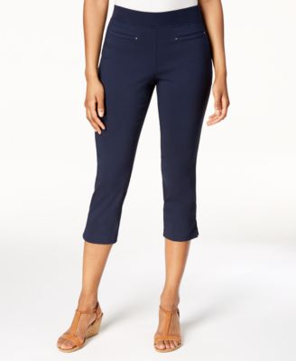 Image of Style & Co Pull-On Capri Pants, Created for Macy's