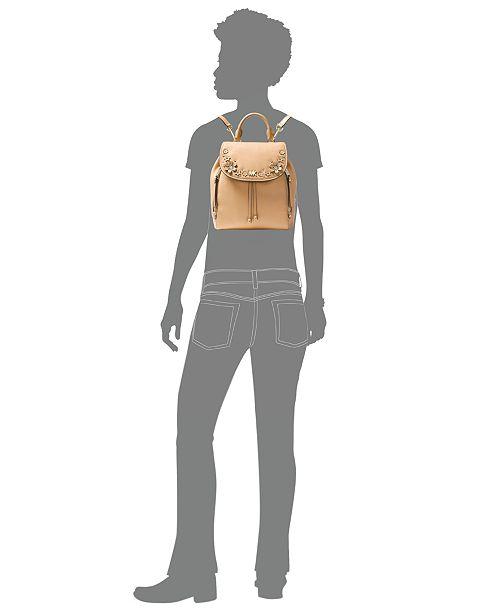 a96645a3c34f Michael Kors Evie Small Flower Garden Backpack   Reviews - Handbags ...