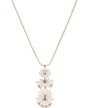 I.n.c. Gold-Tone Crystal...