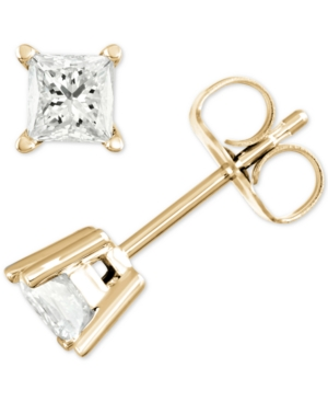 Stud Earrings (1/2 ct. t.w.) in 14k Gold or White Gold