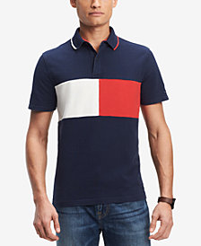 Tommy Hilfiger Denim Men's Logo Classic Fit Polo, Created for Macy's