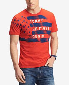 Tommy Hilfiger Denim Men's Flag Graphic-Print T-Shirt
