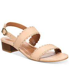Style & Co Martinee Block-Heel Sandals, Created for Macy's