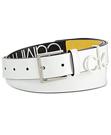 Calvin Klein CK Leather Belt