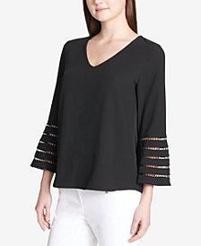 Calvin Klein 3/4-Sleeve Top