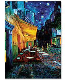 "Vincent van Gogh 'Cafe Terrace' 35"" x 47"" Canvas Art Print"