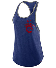 Nike Women's Chicago Cubs Tri-Racer Tank