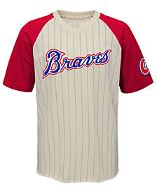 Outerstuff Atlanta Braves Game Tradition T-Shirt, Big Boys (8-20)