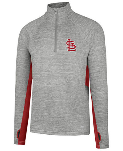 '47 Brand Men's St. Louis Cardinals Evolve Quarter-Zip Pullover