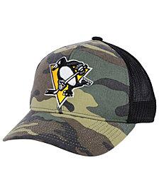 adidas Pittsburgh Penguins Camo Trucker Cap