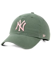 newest adf10 56374  47 Brand New York Yankees Moss Pink CLEAN UP Cap