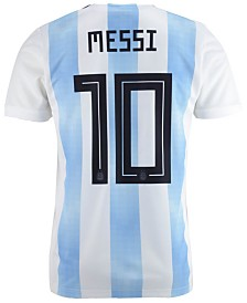 adidas Lionel Messi Argentina National Team Home Stadium Jersey, Big Boys (8-20)