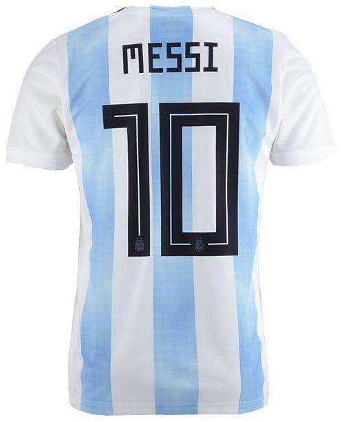 2b0608344 ... adidas Lionel Messi Argentina National Team Home Stadium Jersey