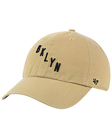 '47 Brand Brooklyn Nets Mash Up CLEAN UP Cap
