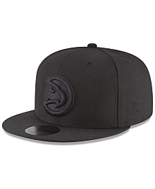 New Era Atlanta Hawks Blackout 59FIFTY Fitted Cap