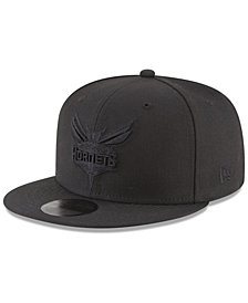 New Era Charlotte Hornets Blackout 59FIFTY Fitted Cap