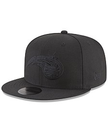 New Era Orlando Magic Blackout 59FIFTY Fitted Cap