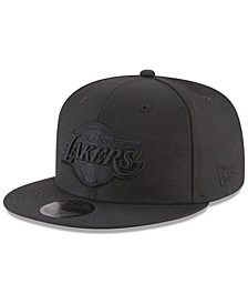 Los Angeles Lakers Blackout 59FIFTY Fitted Cap