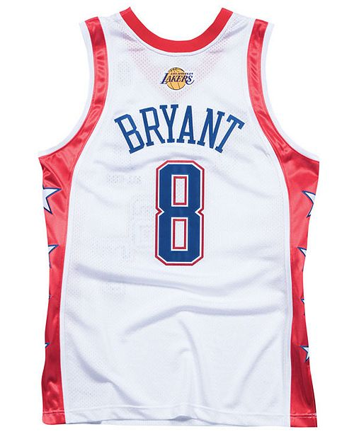 e742471aad9 ... Mitchell   Ness Men s Kobe Bryant NBA All Star 2004 Swingman Jersey ...