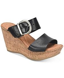 Born Emmy Wedge Sandals