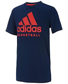 adidas Big Boys Graphic-Print T-Shirt
