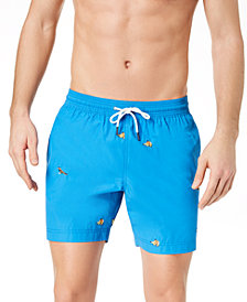 "Tommy Hilfiger Men's Darter 6.5"" Swim Trunk, Created for Macy's"