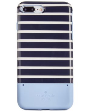 KATE SPADE NEW YORK STRIPED CREDIT CARD IPHONE 8 PLUS CASE