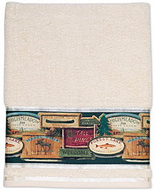 "Avanti Rather be Fishing 27"" x 50"" Bath Towel"