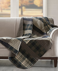 "Woolrich Winter Plains 50"" x 70"" Quilted Throw"