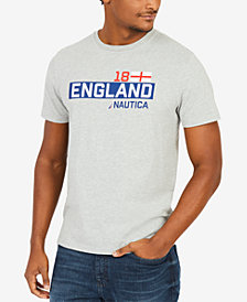 Nautica Men's Country Graphic-Print T-Shirt, Created for Macy's