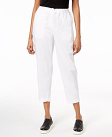 Eileen Fisher Organic Cotton Capri Pants