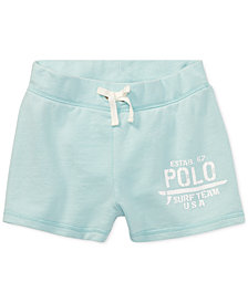 Polo Ralph Lauren French Terry Shorts, Big Girls