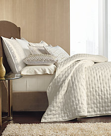 Hotel Collection Opalescent Quilted Coverlet & Sham Collection, Created for Macy's