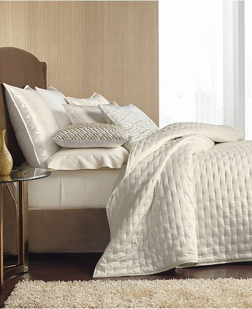 Hotel Collection Opalescent Queen Coverlet, Created for Macy's