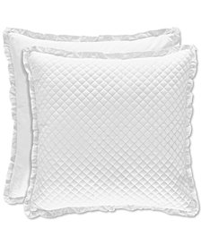 Piper & Wright Flower Bed White European Sham
