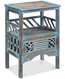 Bali Accent Table, Quick Ship