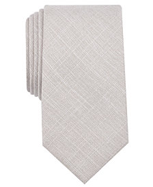 Bar III Men's Buck Solid Skinny Tie, Created for Macy's