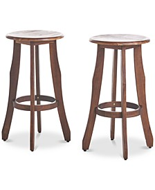 Malibu Outdoor Barstools (Set of 2)
