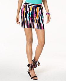 Trina Turk x I.N.C. Ikat Print Shorts. Created for Macy's
