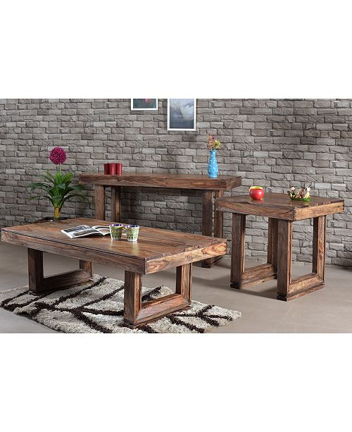 Coast to Coast Brownstone Table Collection, Quick Ship