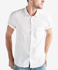 Lucky Brand Men's 1 Pocket Linen Shirt