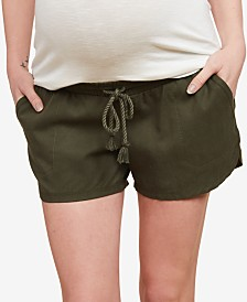 Jessica Simpson Maternity Pull-On Shorts