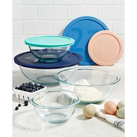 Pyrex 8-Pc. Mixing Bowl Set