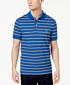 Lacoste Men's Striped Pique Polo