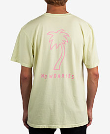 Neff Men's No Worries Palm Tree T-Shirt